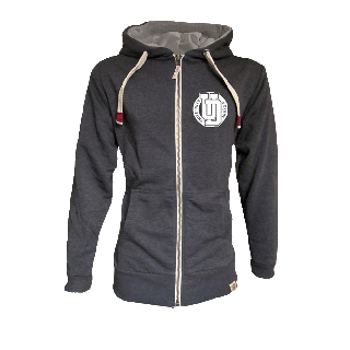 Derby Franklin Lightweight Zipped Hoodie - Circle
