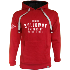 Royal Holloway Denver Hoodie - Founded 1886 Print