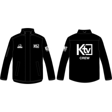 KTV Crew Fleeced Lined Rain Jacket