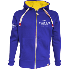 Royal Holloway Stanford Zipped Hoodie - Founded 1886 Print