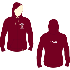 University of Winchester Busking Society Stanford Zipped Hoodie