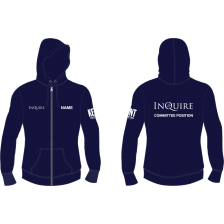 Kent Inquire Media Zipped Hoodie