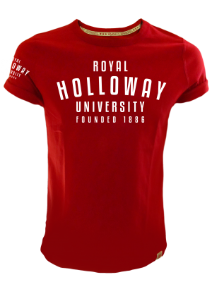 Royal Holloway Colorado T-Shirt - Founded 1886 Print