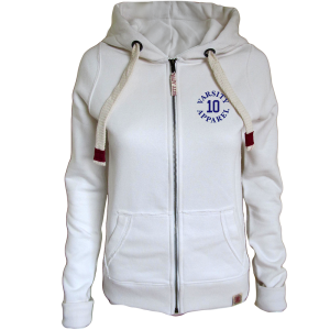 Georgia Zip Hoodie, Ladies, Authentic 10
